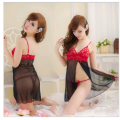 Red Lace Transparent Nightwear | Code 172