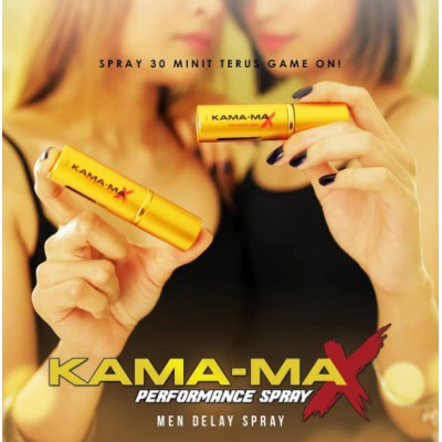 Kamamax Performance Spray | Kama-Max Spray Tahan Lama