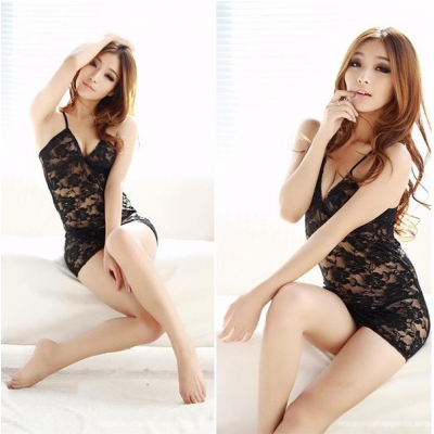 Lace V-Neck Sexy Lingerie | Code 523