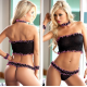 Black Chest BabyDoll Sexy Wear | Code 142