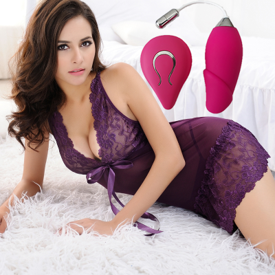 Wireless Remote Controlled Rechargeable Vibrator | Alat Mainan Seks Wanita