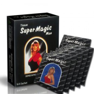 Super Magic Tissue (Tahan Lama di ranjang)